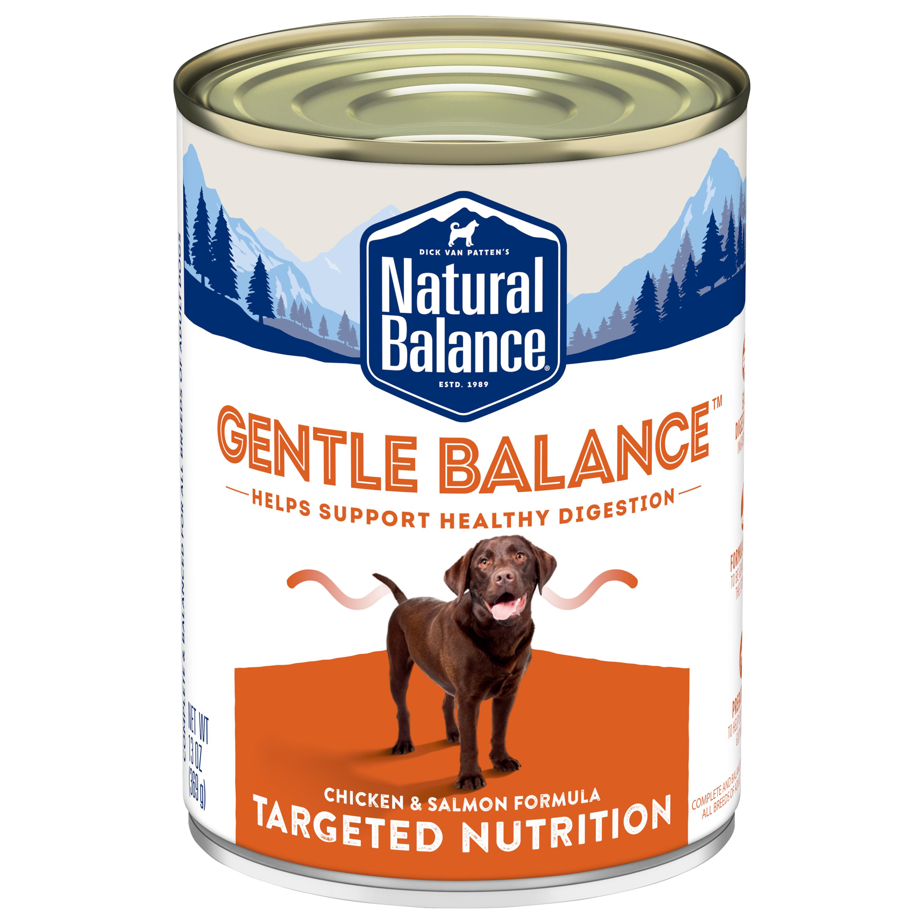 Natural Balance Targeted Nutrition Gentle Balance Chicken & Salmon Canned Dog Food Image