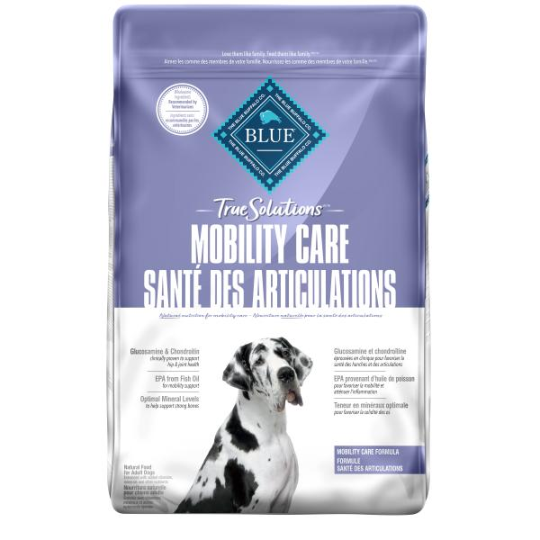 Blue Buffalo TRUE Solutions Mobility Care Dry Dog Food, 22-lb
