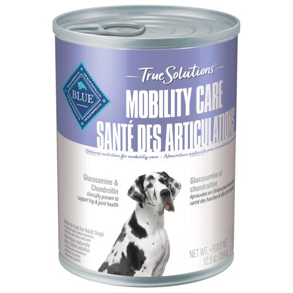 Blue Buffalo TRUE Solutions Mobility Care Wet Dog Food, 12.5-oz, case of 12