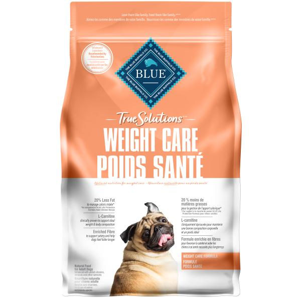 Blue Buffalo TRUE Solutions Weight Care Dry Dog Food, 5-lb