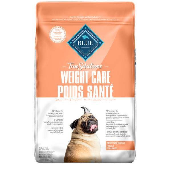 Blue Buffalo TRUE Solutions Weight Care Dry Dog Food, 22-lb
