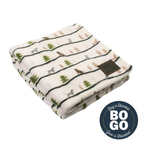 Tall Tails Winter Walk Dog Blanket, 40-in x 60-in