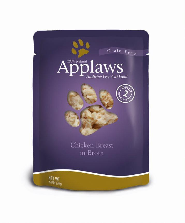 Applaws Chicken Breast in Broth Wet Cat Food, 2.4-oz