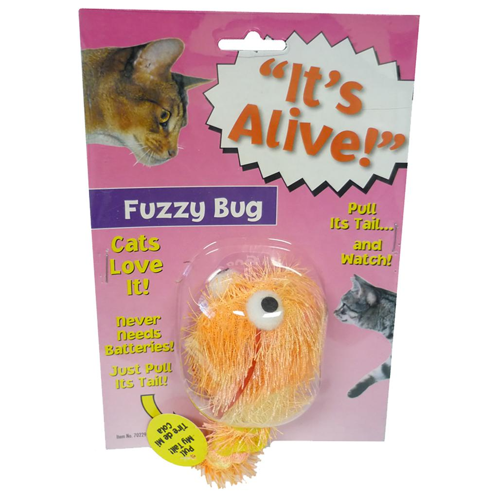 Amazing Pet Products It's Alive! Vibrating Fuzzy Bug Cat Toy