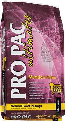 Pro Pac Ultimates Meadow Prime Lamb & Potato Grain-Free Dry Dog Food, 28-lb bag