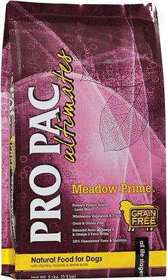 Pro Pac Ultimates Meadow Prime Lamb & Potato Grain-Free Dry Dog Food, 5-lb
