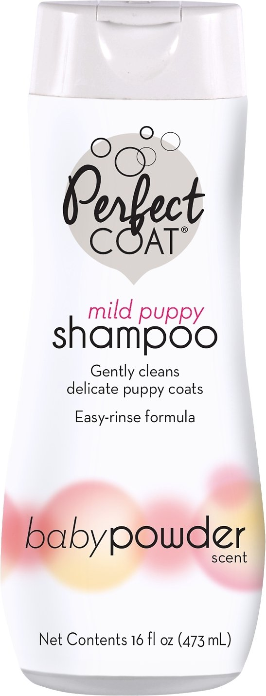 Perfect Coat Pampered Puppy Shampoo, 16-oz bottle