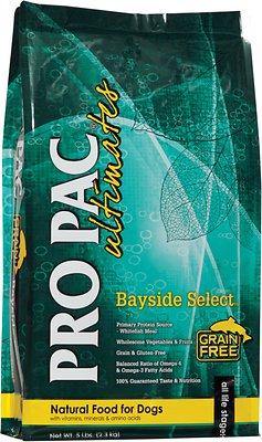 Pro Pac Ultimates Bayside Select Fish & Potato Grain-Free Dry Dog Food, 28-lb bag