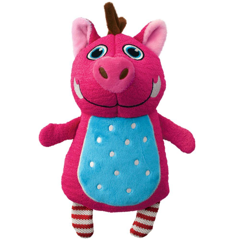 KONG Whoopz Warthog Dog Toy, Medium
