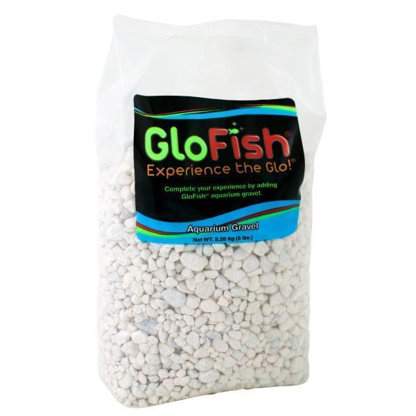 GloFish Aquarium Gravel, White, 5-lb