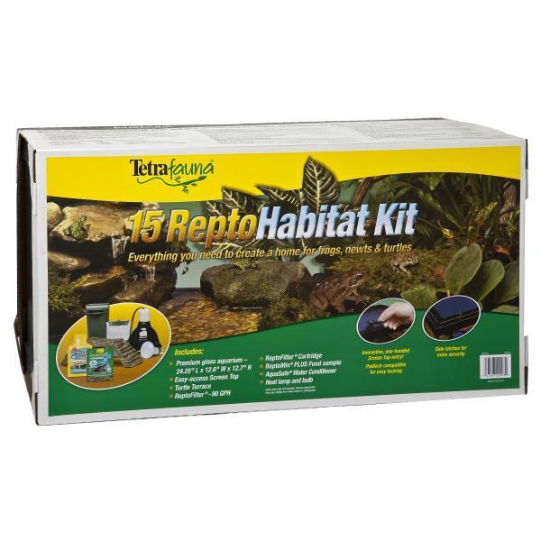 Tetrafauna ReptoHabitat Reptile Habitat Kit, 15-gal