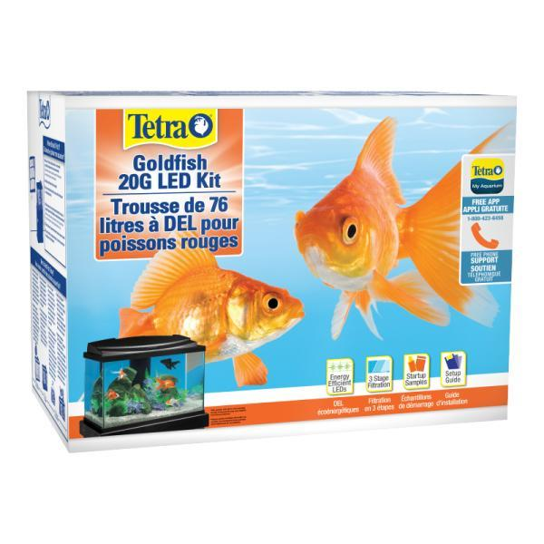 Tetra Goldfish LED Aquarium Kit, 20-gal