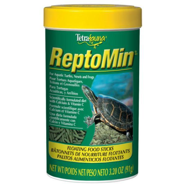 Tetrafauna Reptomin Floating Food Sticks Reptile Food, 3.2-oz