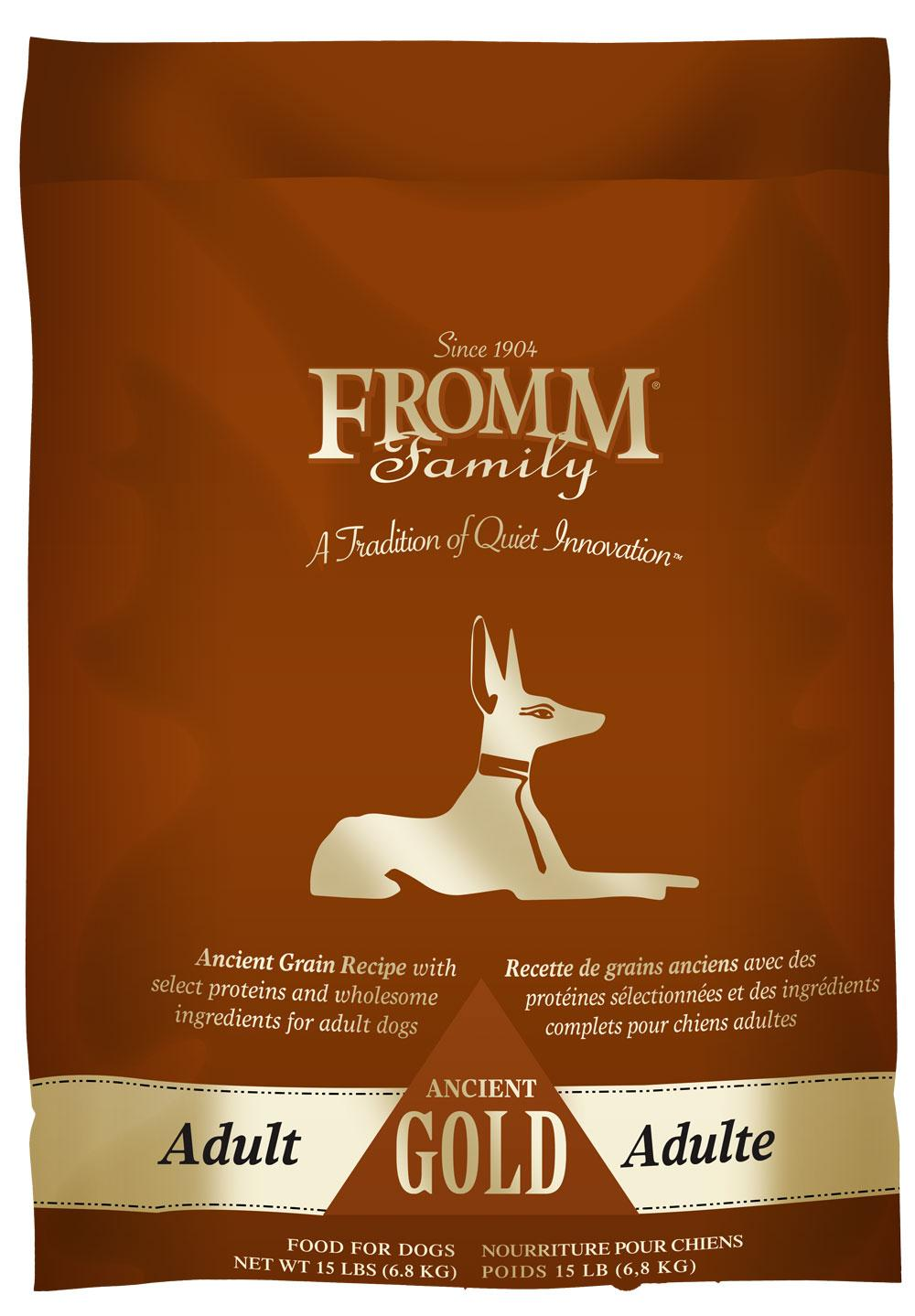 Fromm Adult Ancient Gold Dry Dog Food, 15 lb