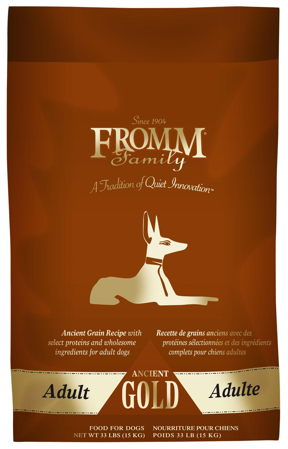 Fromm Adult Ancient Gold Dry Dog Food, 33 lb Size: 33 lb