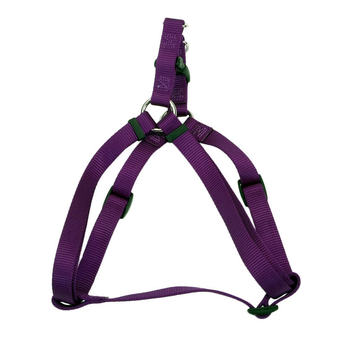 Coastal Comfort Wrap Adjustable Dog Harness, Purple Image
