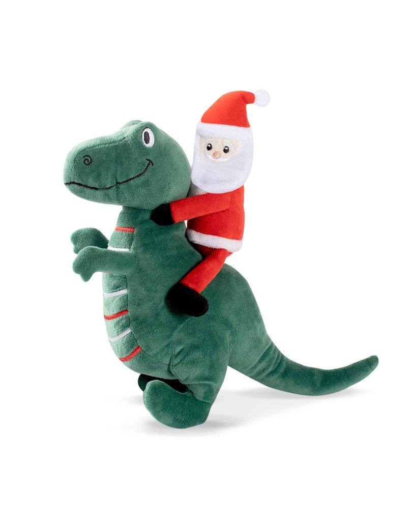 Pet Shop by Fringe Studio Santasaurus Rex Dog Toy Image