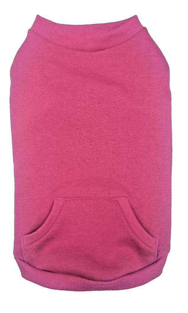 Ethical Fashion Pet Dog Sweatshirt, Pink, Large