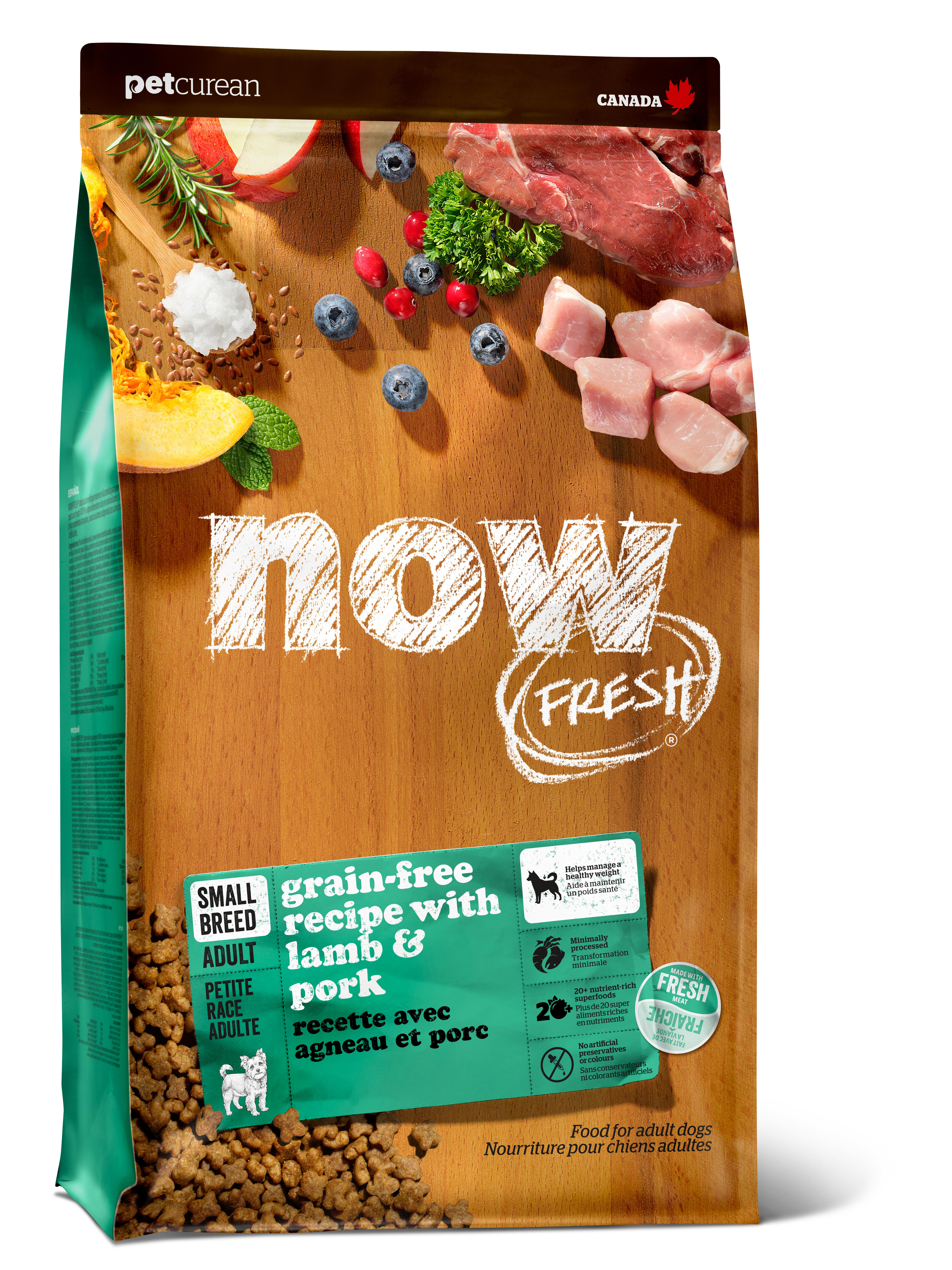 NOW FRESH Lamb & Pork Small Breed Grain-Free Dry Dog Food Image