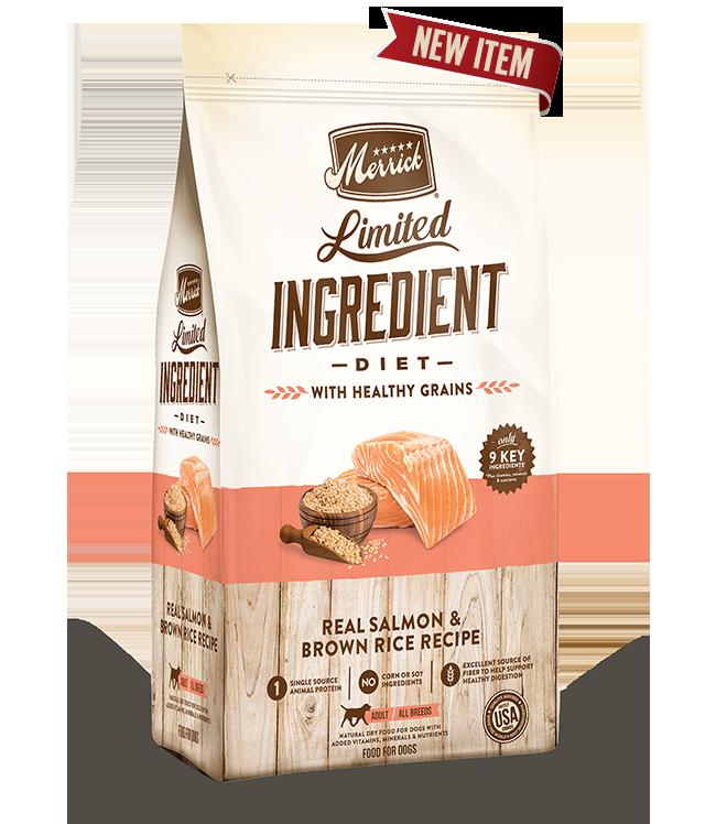 Merrick Limited Ingredient Salmon & Brown Rice Image