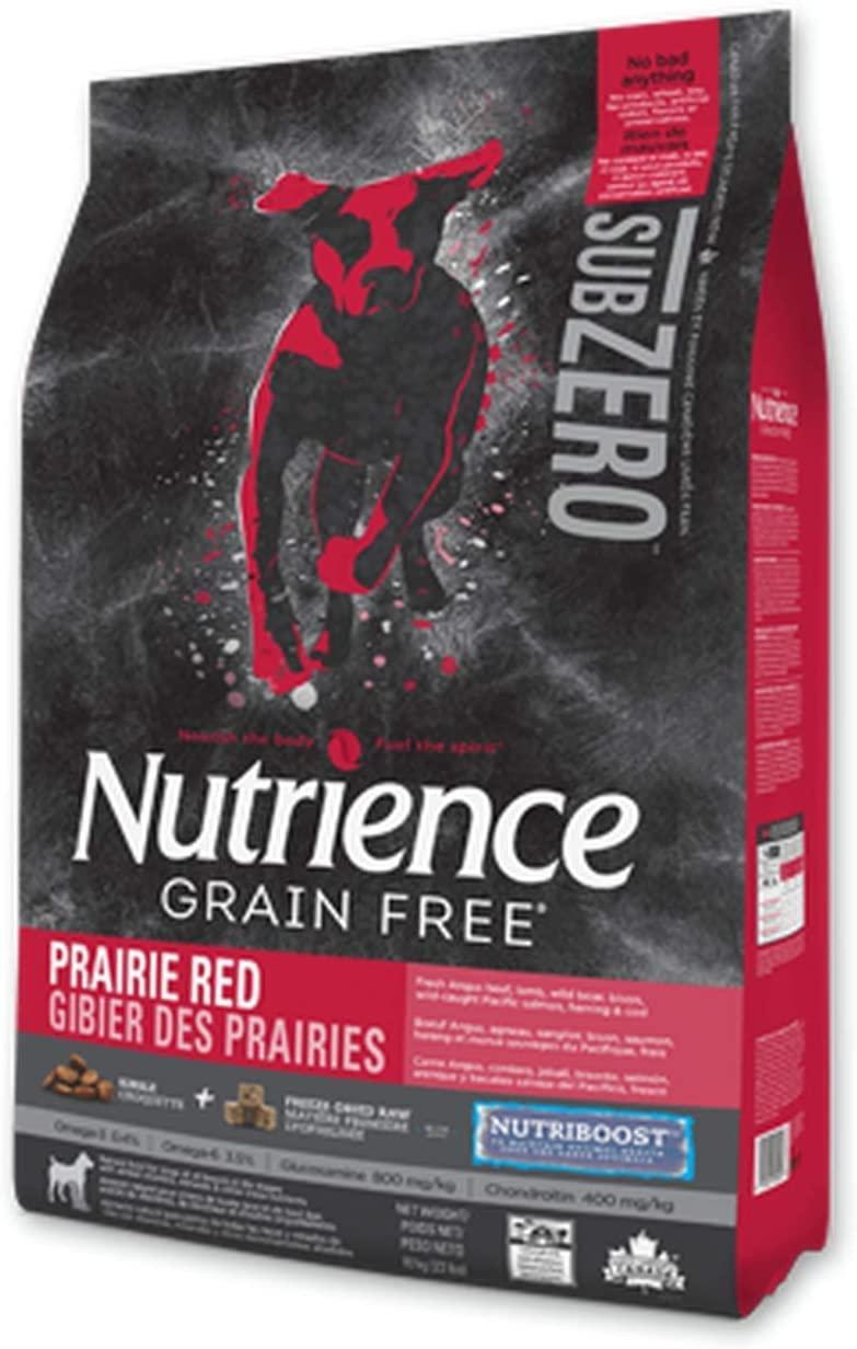 Nutrience SubZero Prairie Red Grain-Free Dry Dog Food, 2.27-kg