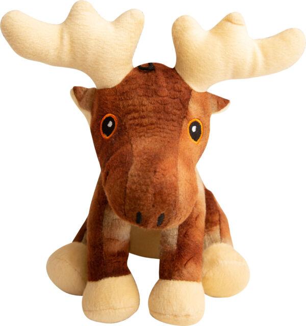 Snugarooz Marty The Moose Dog Toy, 6-in