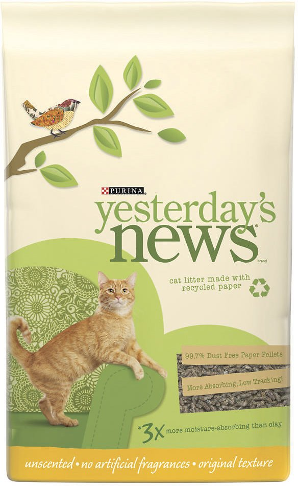 Yesterday's News Original Formula Cat Litter Image