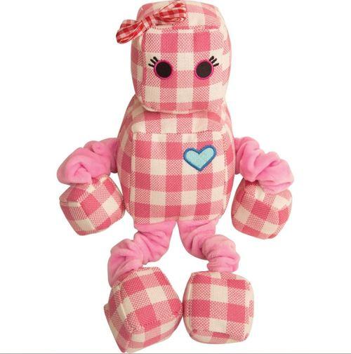 Snugarooz Rosie the Robot Dog Toy, 13-in