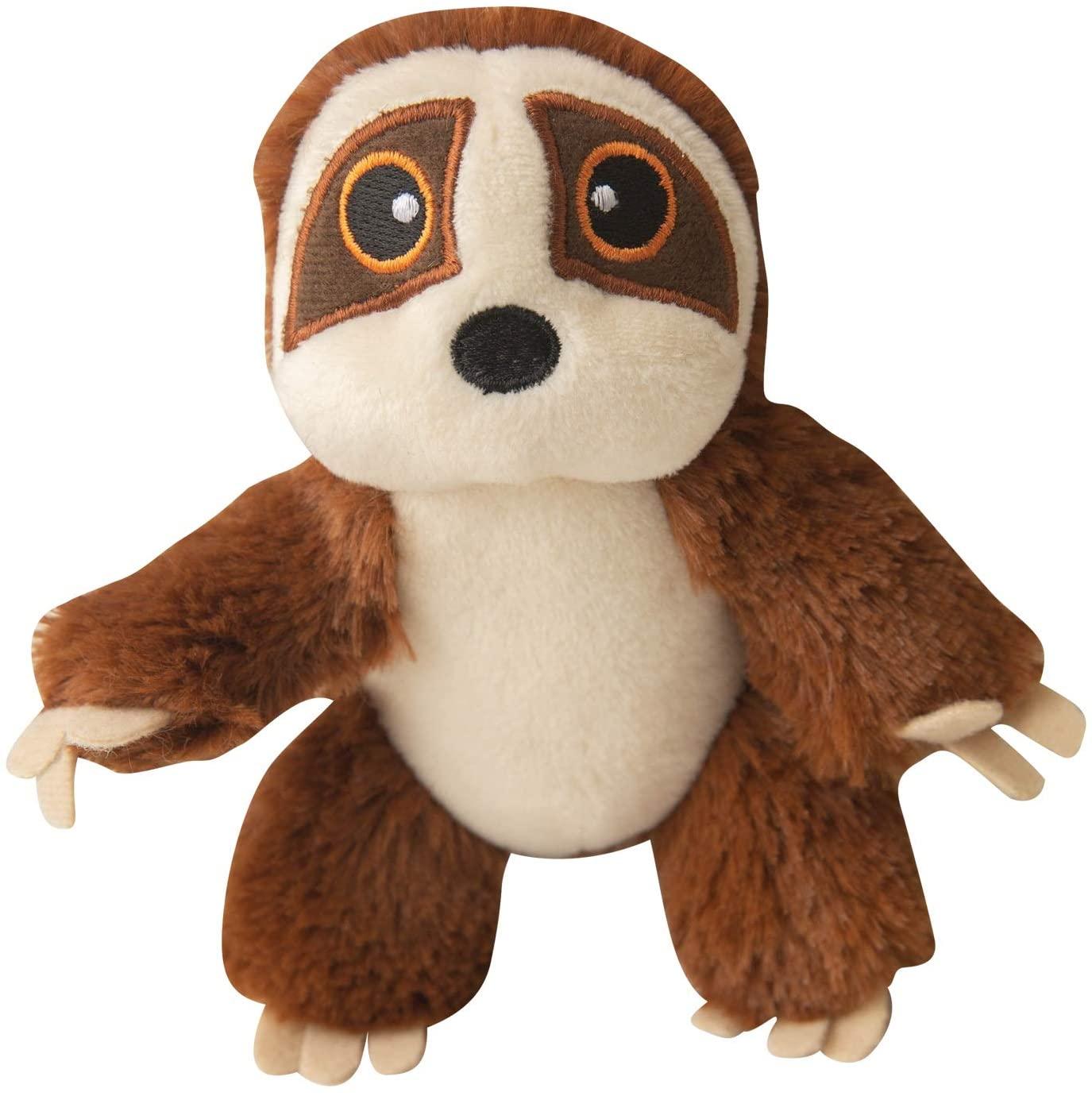 Snugarooz Baby Sasha the Sloth Dog Toy, 5.5-in