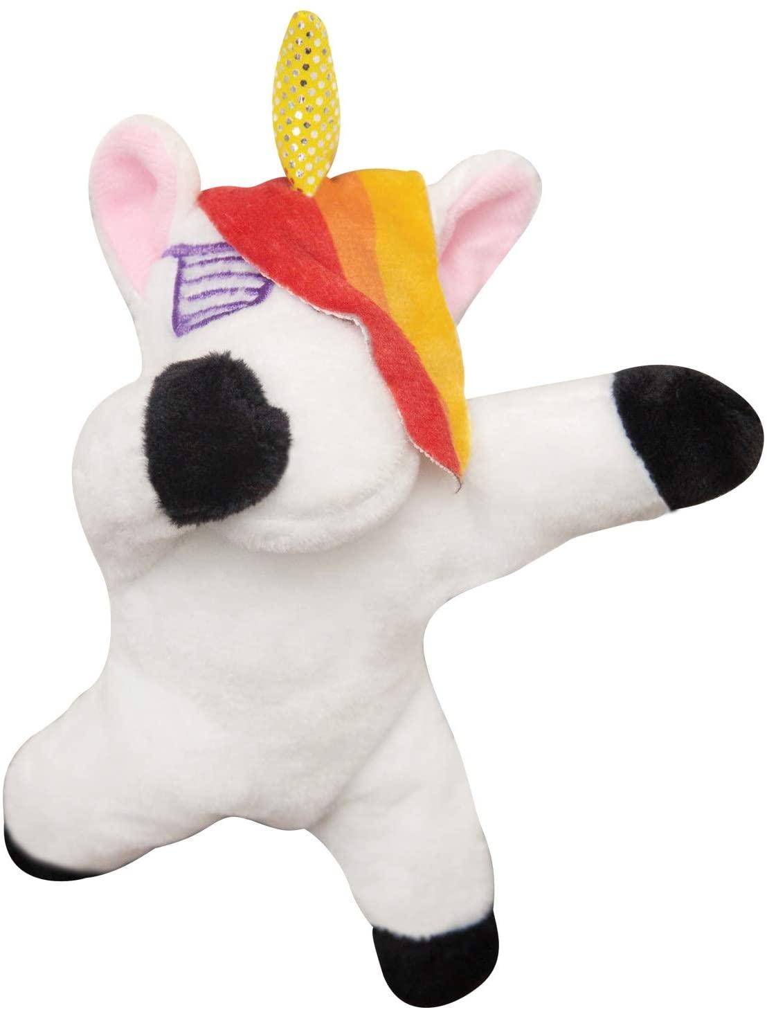 Snugarooz Baby Dab the Unicorn Dog Toy, 6.5-in