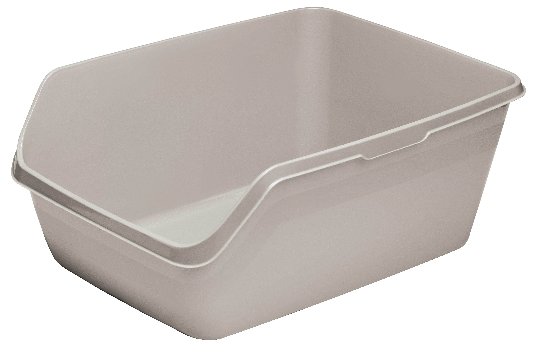 Moderna HyCat Cat Litter Pan, Grey, Jumbo