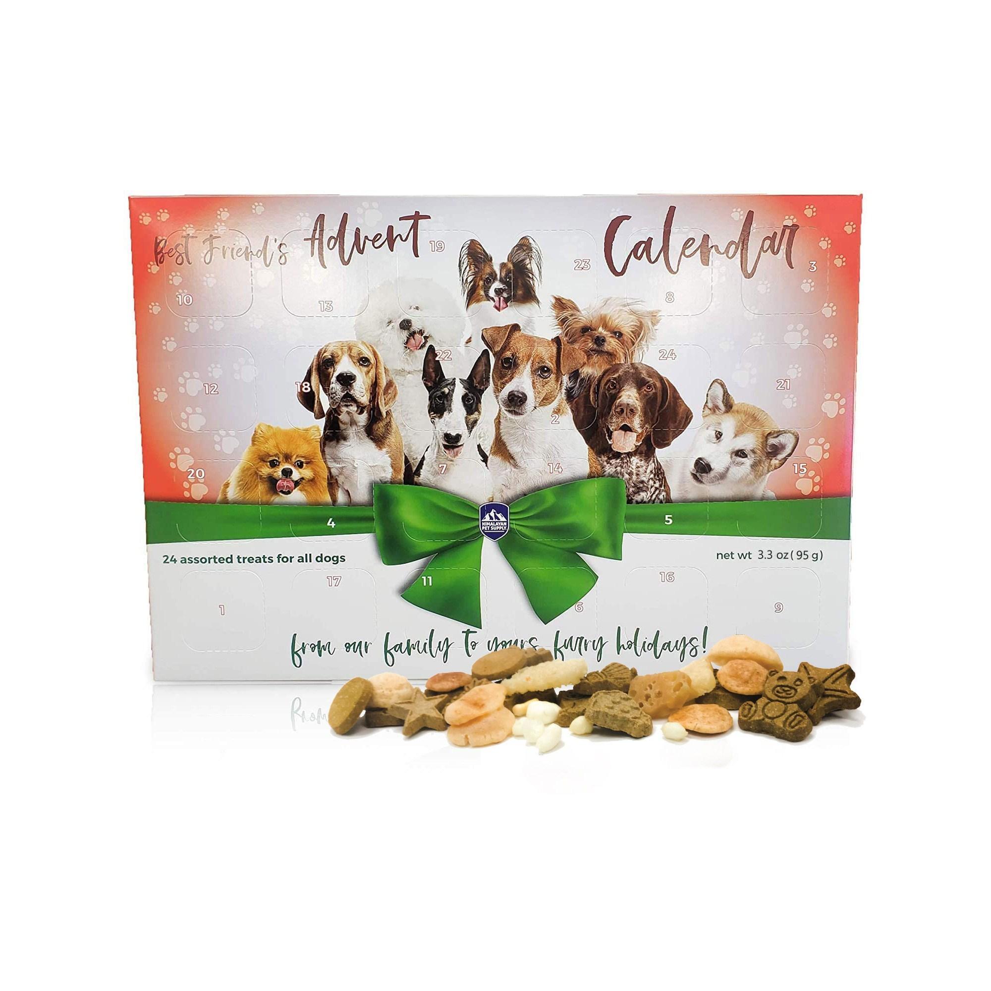 Himalayan 2020 Best Friends Advent Calendar for Dogs, 3.3-oz
