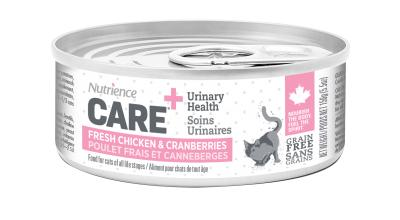 Nutrience Care Urinary Health Chicken & Cranberries Wet Cat Food, 156-gram