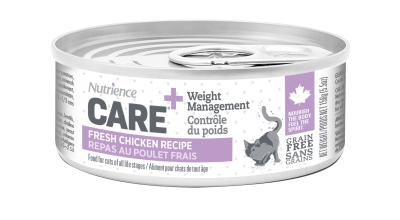 Nutrience Care Weight Control Chicken Wet Cat Food, 156-gram