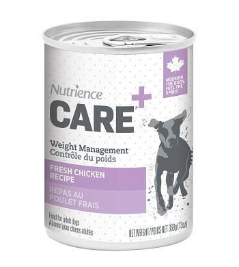 Nutrience Care Weight Management Chicken Wet Dog Food, 369-gram