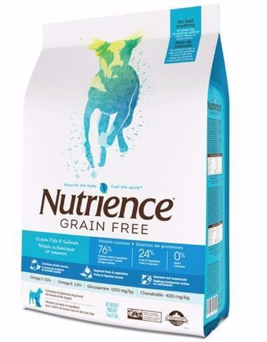 Nutrience Ocean Fish Grain-Free Dry Dog Food, 5-kg
