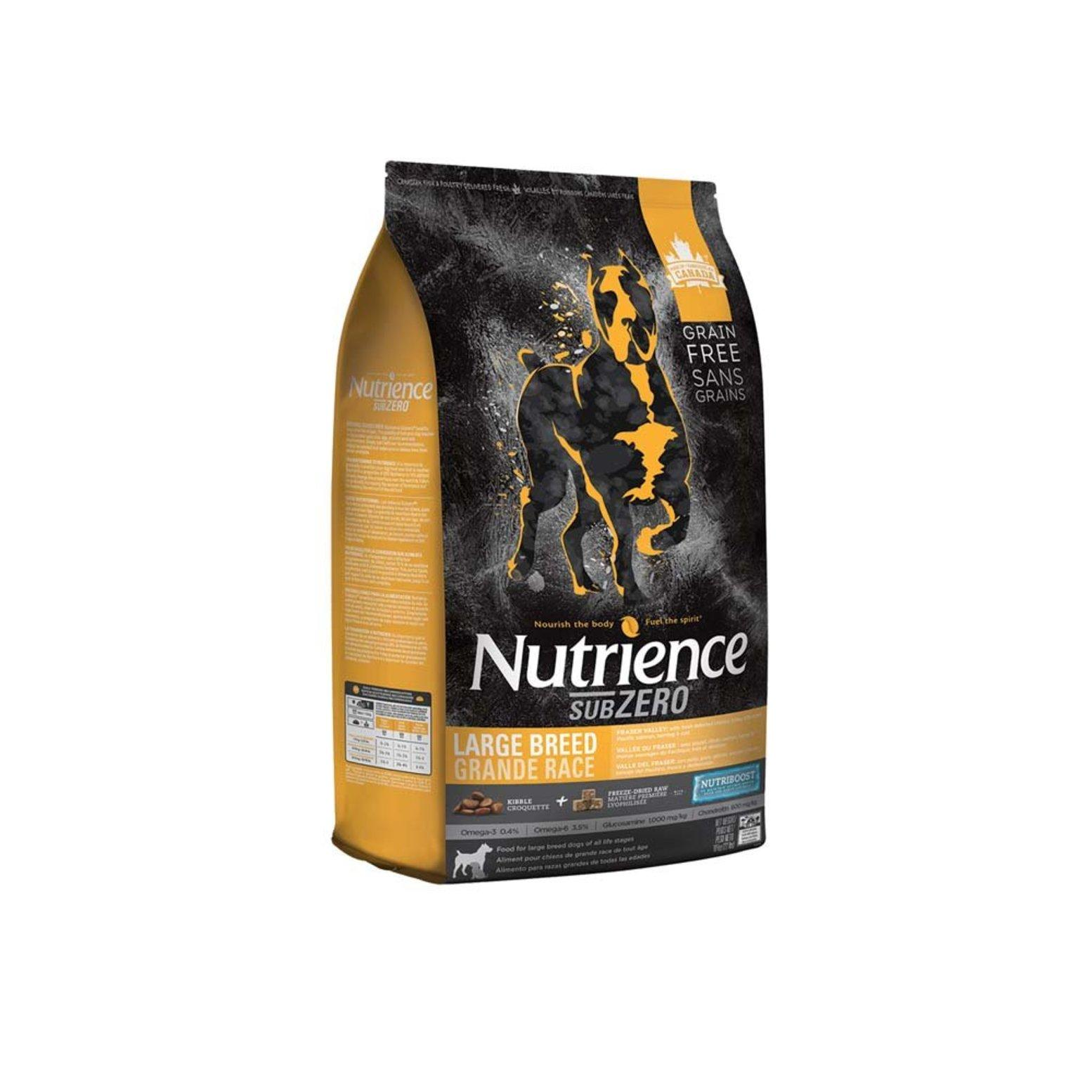 Nutrience SubZero Fraser Valley Large Breed Dry Dog Food, 10-kg