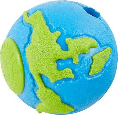 Planet Dog Orbee-Tuff Orbee Ball, Blue/Green, Small