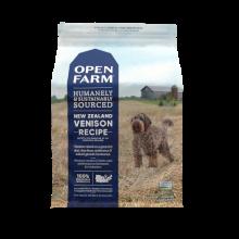 Open Farm New Zealand Venison Dry Dog Food, 12-lb
