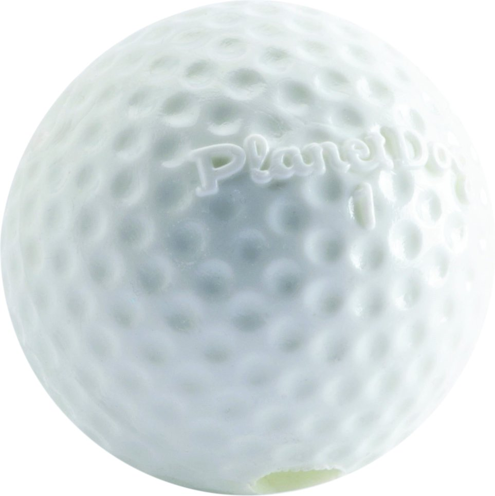 Planet Dog Orbee-Tuff Sport Golf Ball Dog Toy, 2.5-in