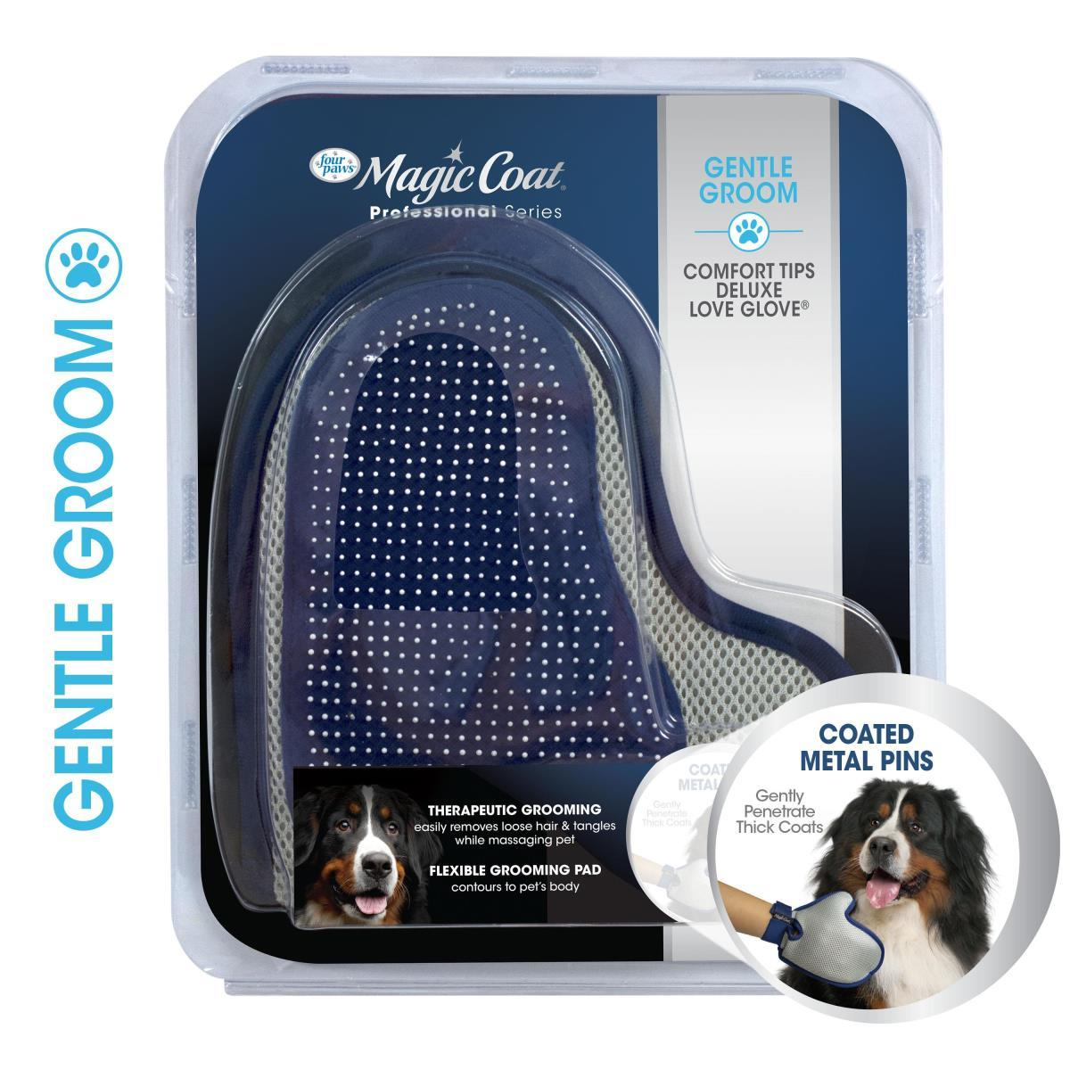 Four Paws Magic Coat Professional Series Comfort Tips Deluxe Love Glove for Dogs Image