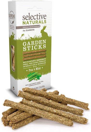 Supreme Petfoods Selective Naturals Garden Sticks Rabbit Treats, 2.1-oz