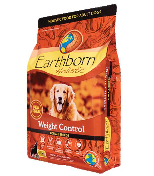 Earthborn Holistics Weight Control Whole Grain Dry Dog food, 12.5-lb