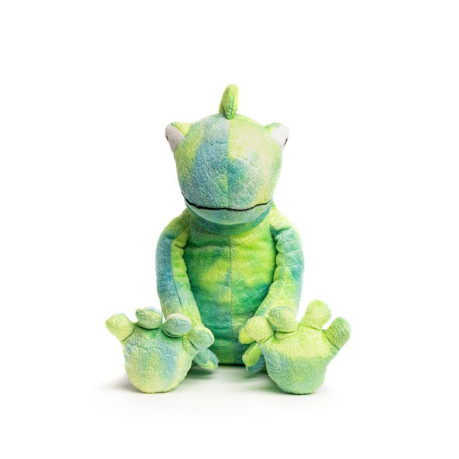 FabDog Floppy Chameleon Plush Dog Toy, Small