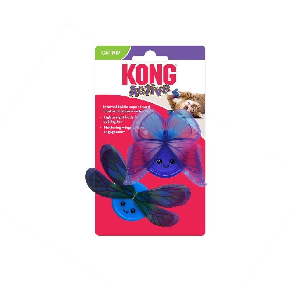 Kong Cat Active Capz Cat Toy, 2-pk