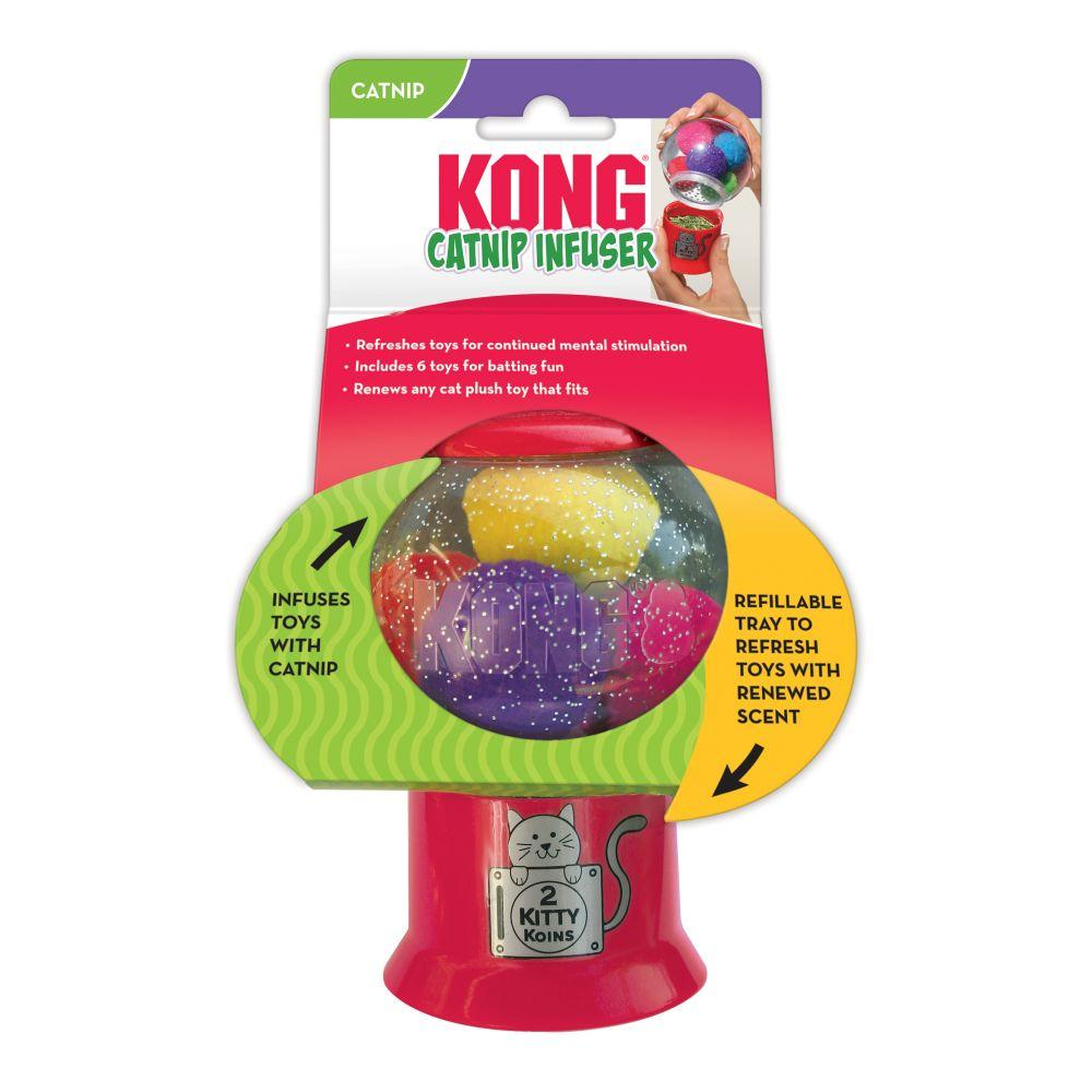 Kong Cat Catnip Infuser Cat Toy