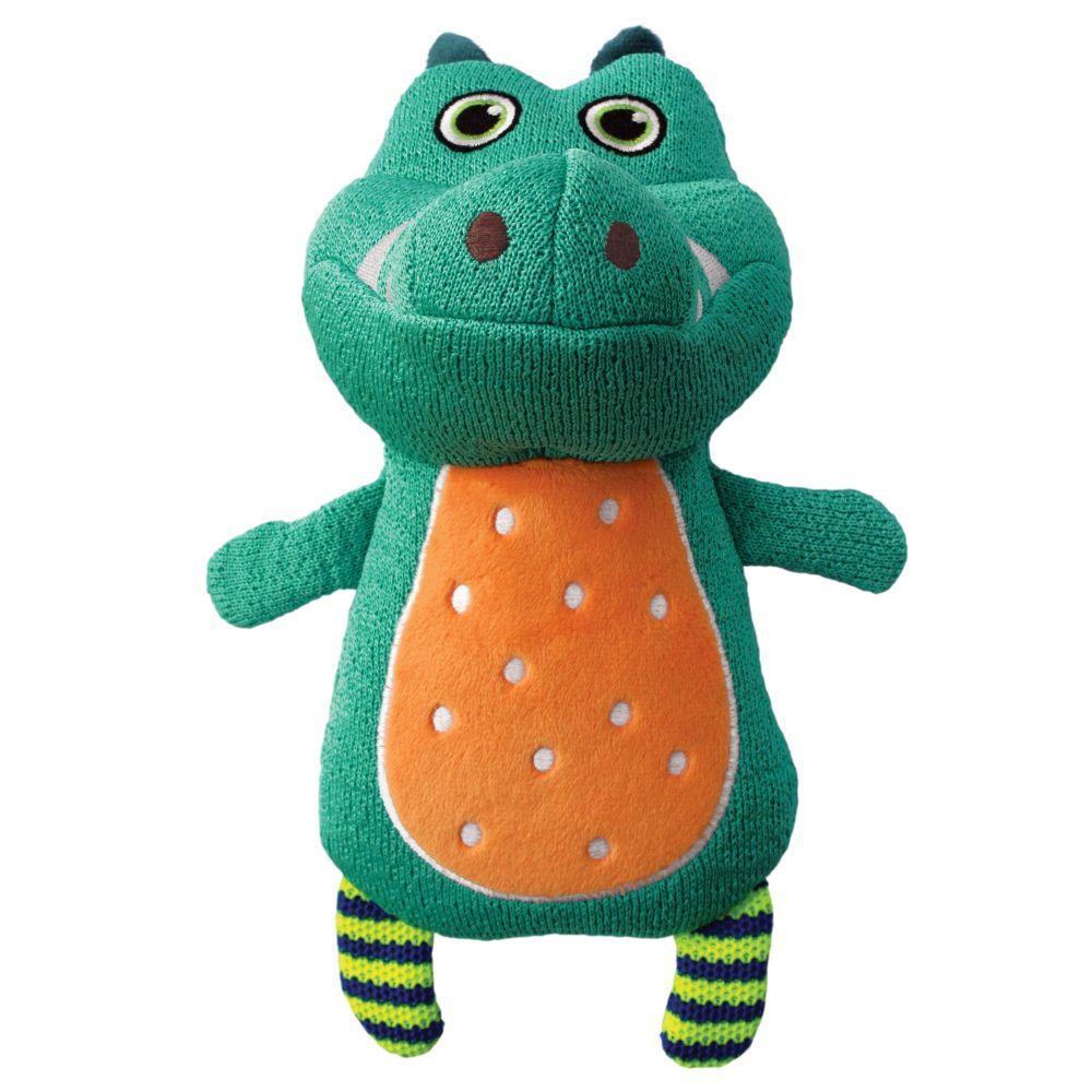 KONG Whoopz Gator Dog Toy, Medium