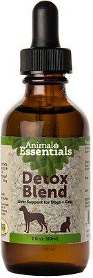 Animal Essentials Detox Blend Liver Support Dog & Cat Supplement, 2-oz bottle