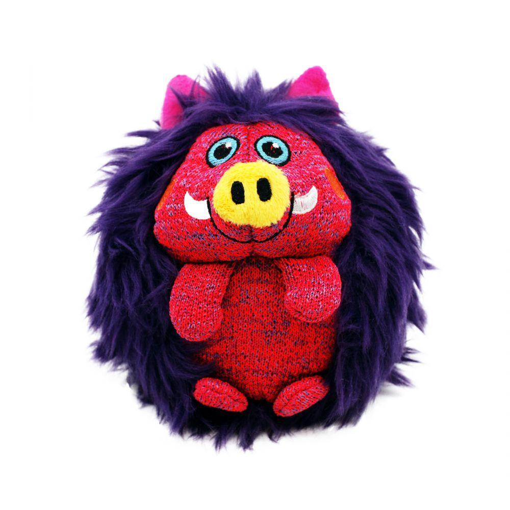 KONG Zigwigz Warthog Dog Toy, Medium