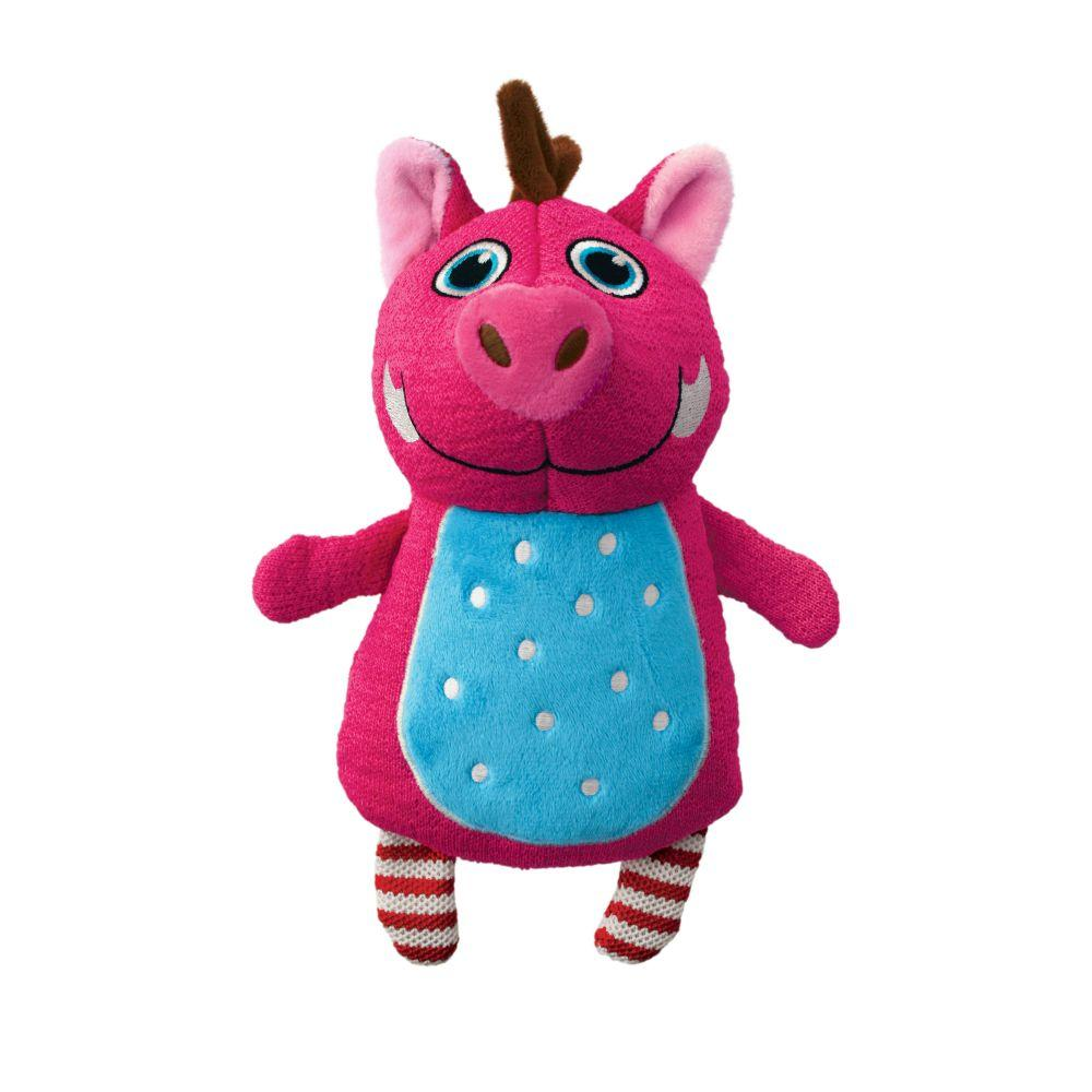 KONG Whoopz Warthog Dog Toy, Small
